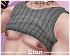 Rolled Tank Top GStriped