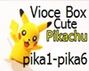 Cute Pikachu Voicebox