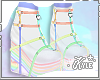 Rainbow Heart Heels | V2