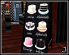 [J] Maid Cafe Cake Sign