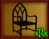 Gothic Chair Black
