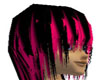 Long blk n Pink tiped