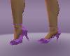 cool purple heel schoes