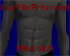 Gray Male Enhanced Skin