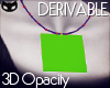  SIN  3DOpacity Necklace