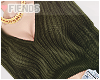 M  Green x Sweater !!