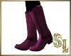 *Purple Boots (F)