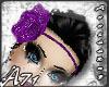 A- Purple Flower Band_H