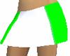 White Green  Skirt