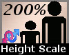 Height Scale 200% -F-