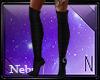 Luna Black Boots