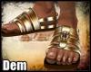 !D! Tutankhamun Sandals