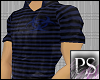 [PS] Biohazard Polo BLUE