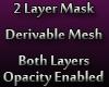 2 Layer Face Mask [Fem]