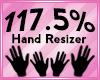 Hand Scaler 117.5%