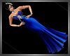 SL Royal Blue Queen Gown