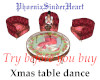 Xmas table top dance