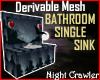 BathroomSingle Sink Mesh