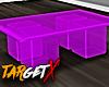 ✘ Purple Table