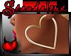 |Sx|Gold Heart Hoops