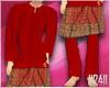 24: Baju Melayu Merah