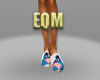 Eeyore slippers in white