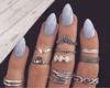 ♔Kelie Nail Ring