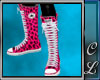 Converse Pink Leopard