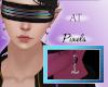 AT Pixels Horn Earrings