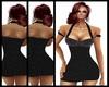 """GIL""""Black dress with str"""