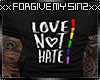 LOVE NOT HATE MENS T