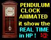 !@ Pendulum clock animat