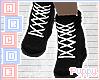 🐕 Black Sneakers