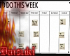 e weekly plan