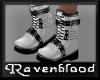 ~RB~ Bovver Boots White