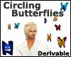 (N) Circling Butterflies
