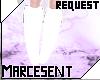 *M* White Pegs