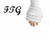 FTG Knitted White Gloves