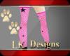 !LK! Star Stocking Pink