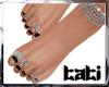 lTl Feet Chain Silver 4
