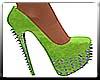 Lime Green Spike Heels