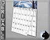 !Calendar - wall