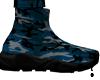 Blue Camo Shoe