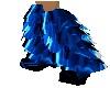 Blue Black boots
