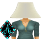 Ama{Lamp Shade white