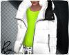 White Puff Coat