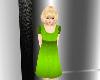 Child Green Apple Dress