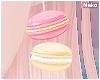 ♪ macaron earrings