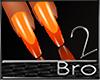 bro- U S.Orange Nails