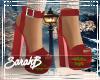 !SB Xmas Red Shoes
